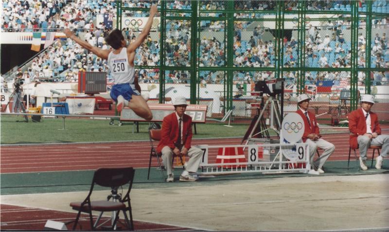 Jimmy Mellado 1988 Olympic Decathlon Photos