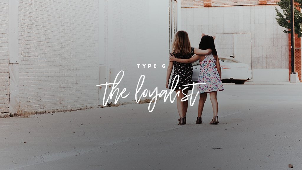 type 6: the loyalist. two little girls walk arms around eachother