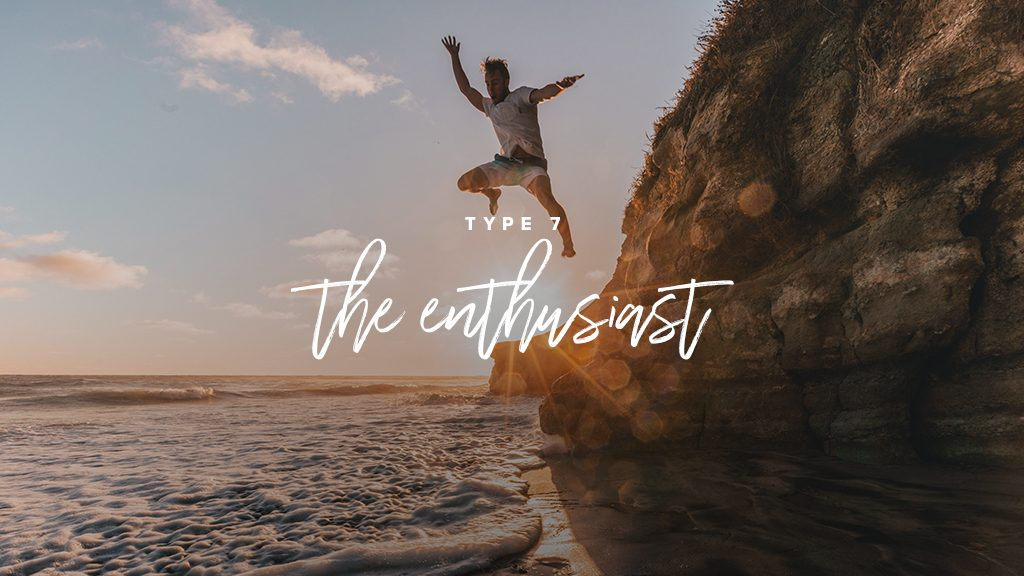 type 7: the enthusiast-- man jumps from cliff into water