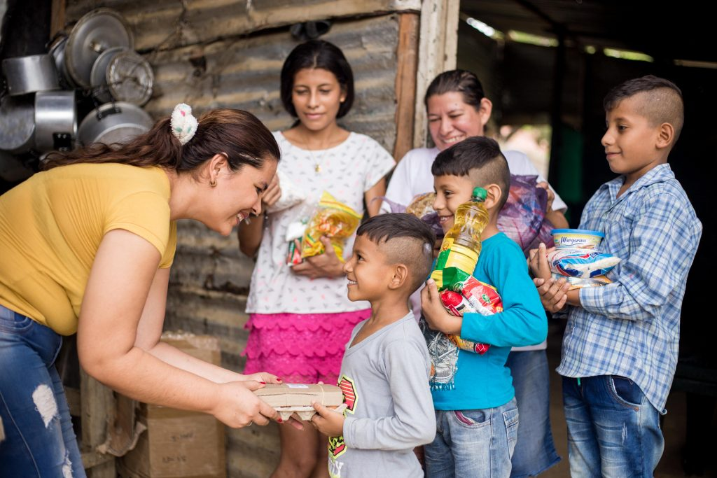 Compassion local church partners deliver urgent care to refugees from Venezuela