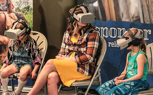 Virtual Reality Experience with Compassion Canada