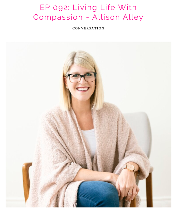 Allison Alley on the Courage Cast with Andrea Crisp