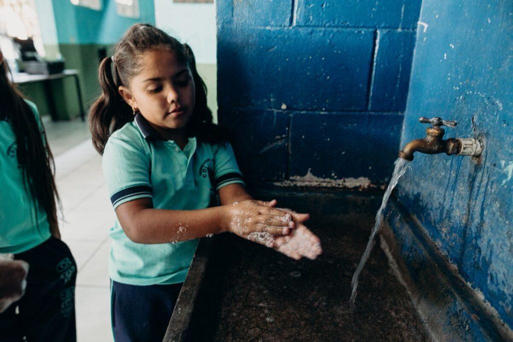 COVID handwashing