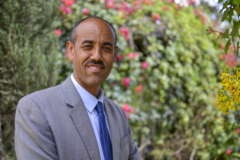 A portrait of Compassion Ethiopia's National Director, Tsehaywota Tadesse.