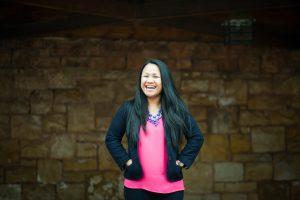 A portrait of Kiwi, a Compassion alumna