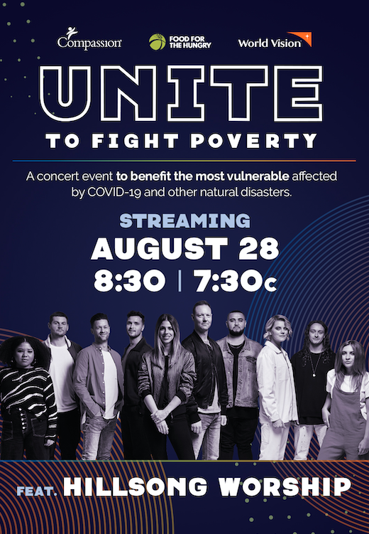 Unite To Fight Concert - Hillsong Worship