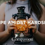 Links to Read our new devotional, <i>Hope Amidst Hardship</i>, now on the Bible App
