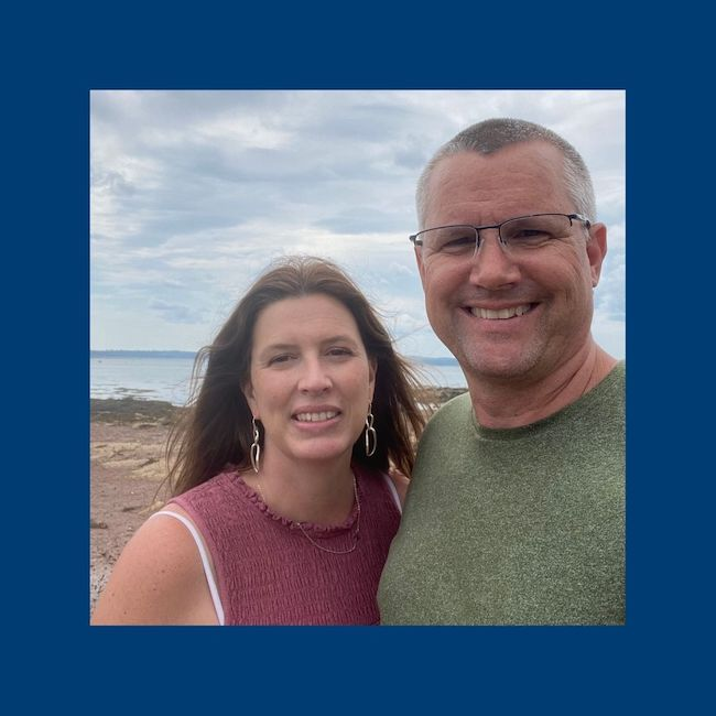 Pastor Matt and his wife
