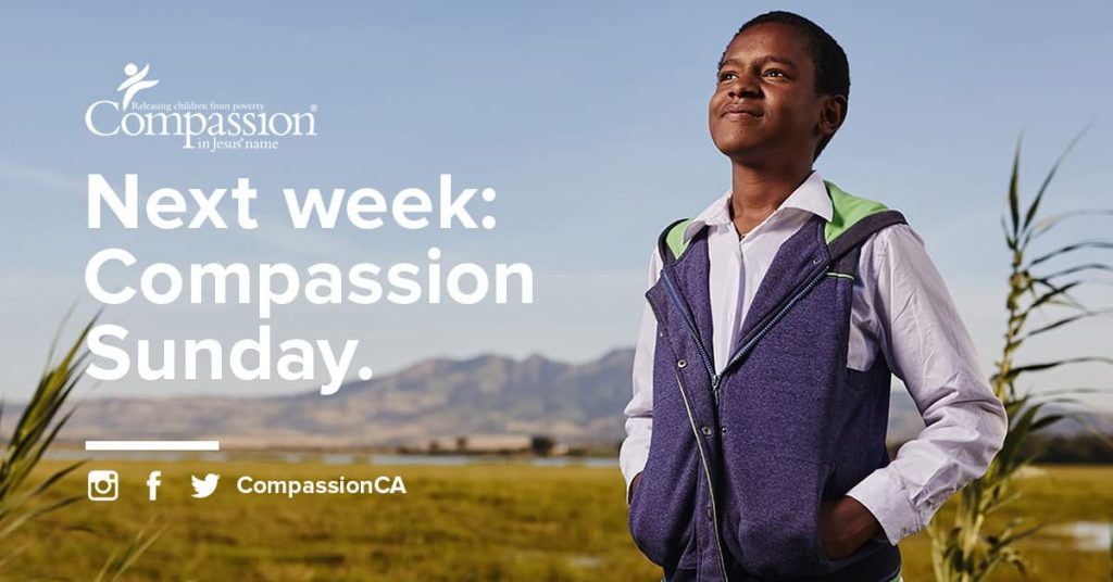 Compassion Sunday ad