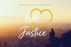 """the """"Love and Justice"""" logo"""