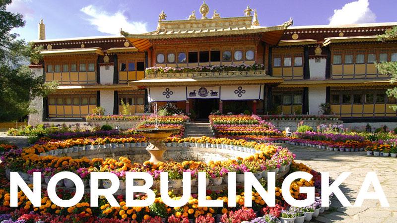 Voyage Norbulingka Tibet