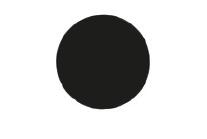 Disque noir Tao