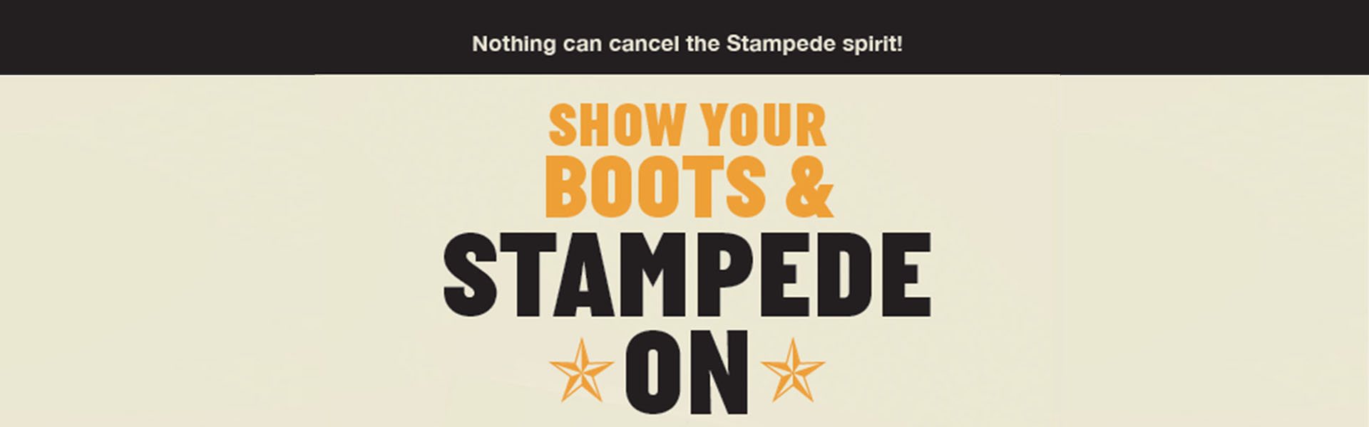 Show your boots and stampede on – Stampede spirit at Goodwill can't be cancelled!