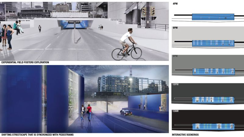 Design 2 urban traverse interactive scenarios