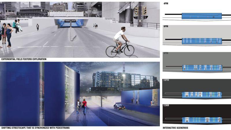 Design 2 urban traverse interactive scenarios