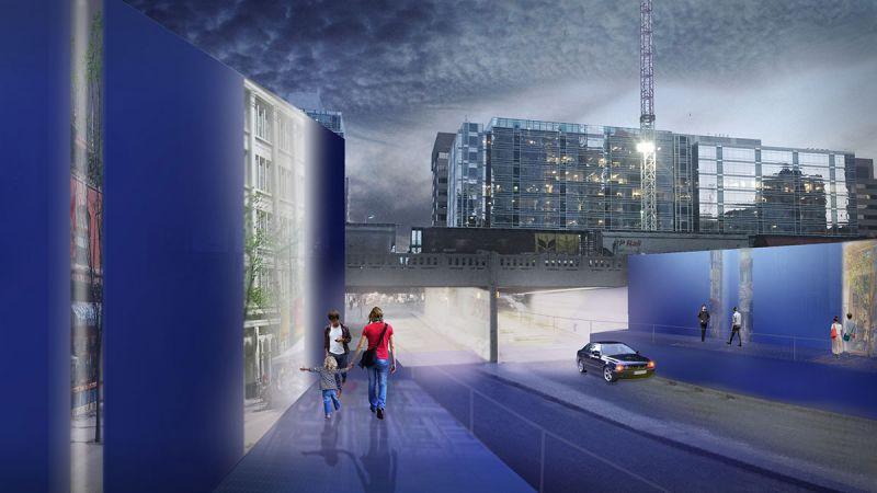 Design 2 urban traverse artist rendering