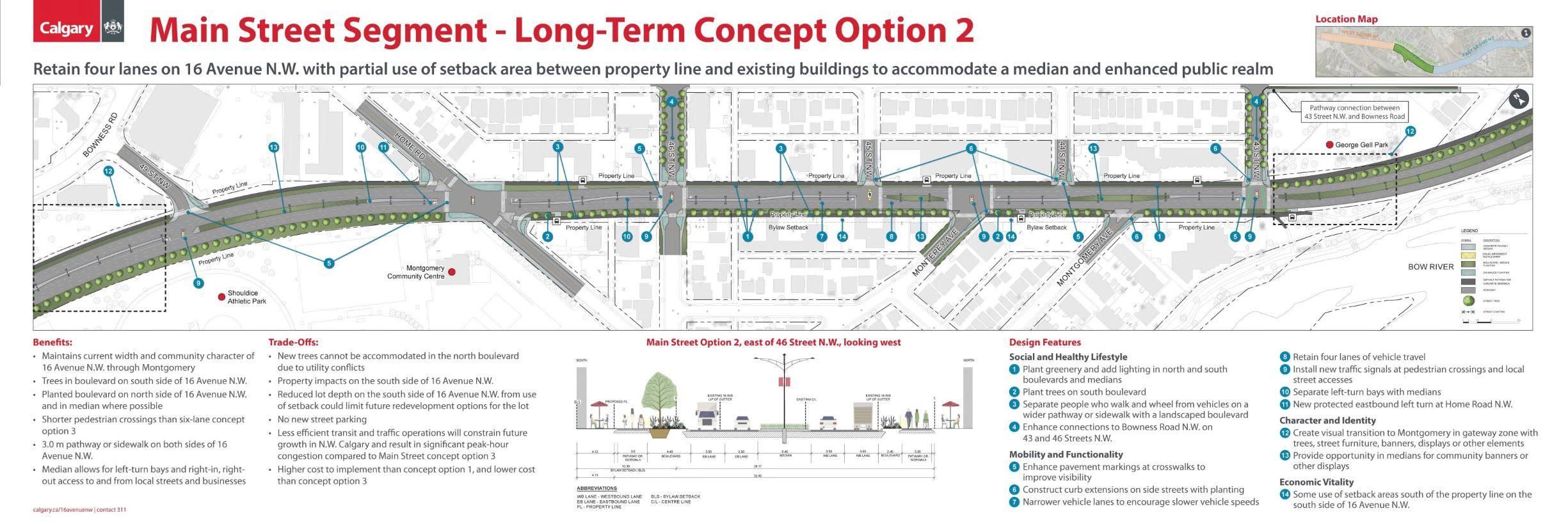 Main Street Segment Option 2