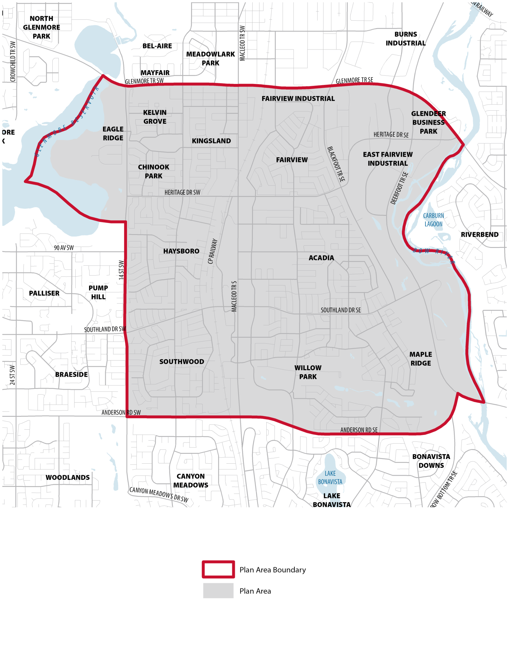 Ward 11 Boundary Map