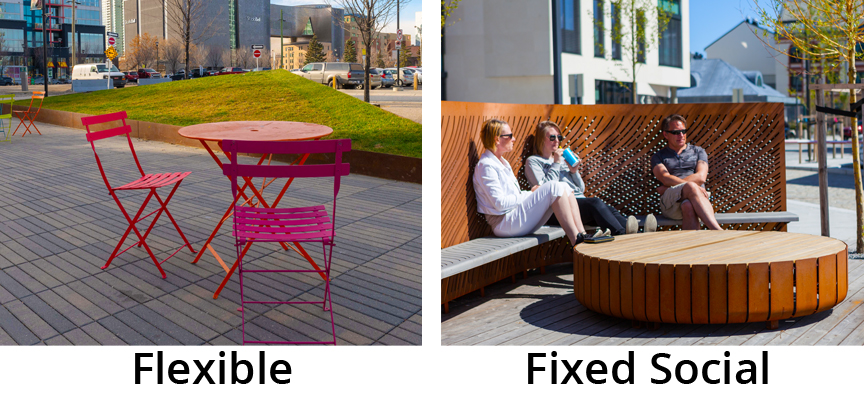 Flexible or Social Seating