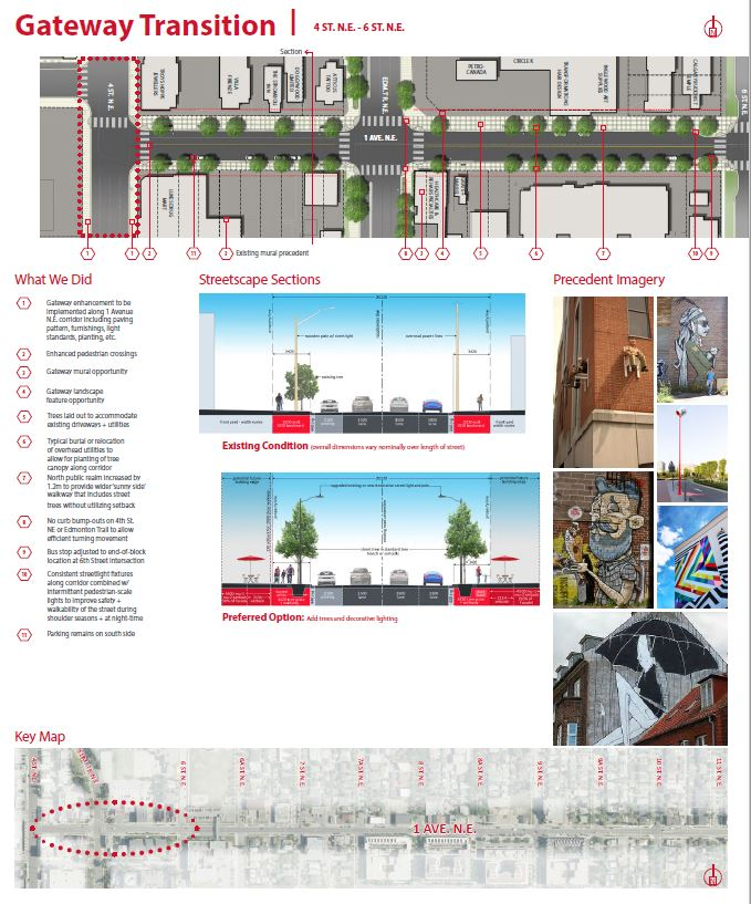 Main Streets - 1 Avenue N E  Streetscape Master Plan :: Engage