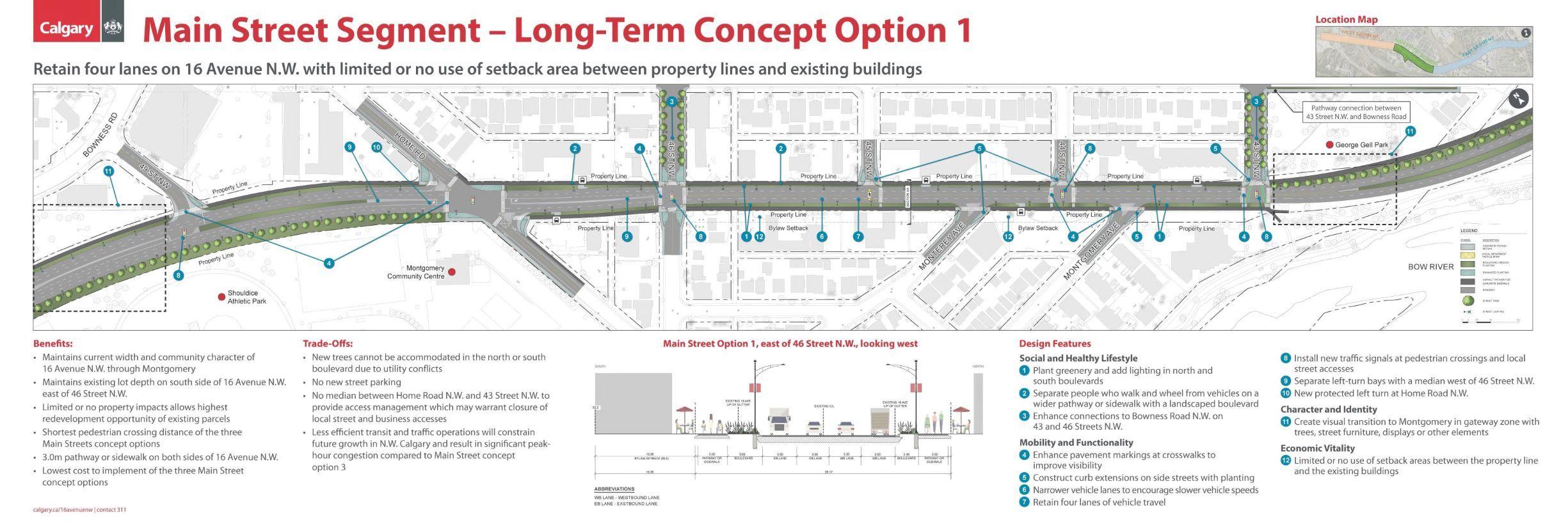 Main Street Segment Option 1