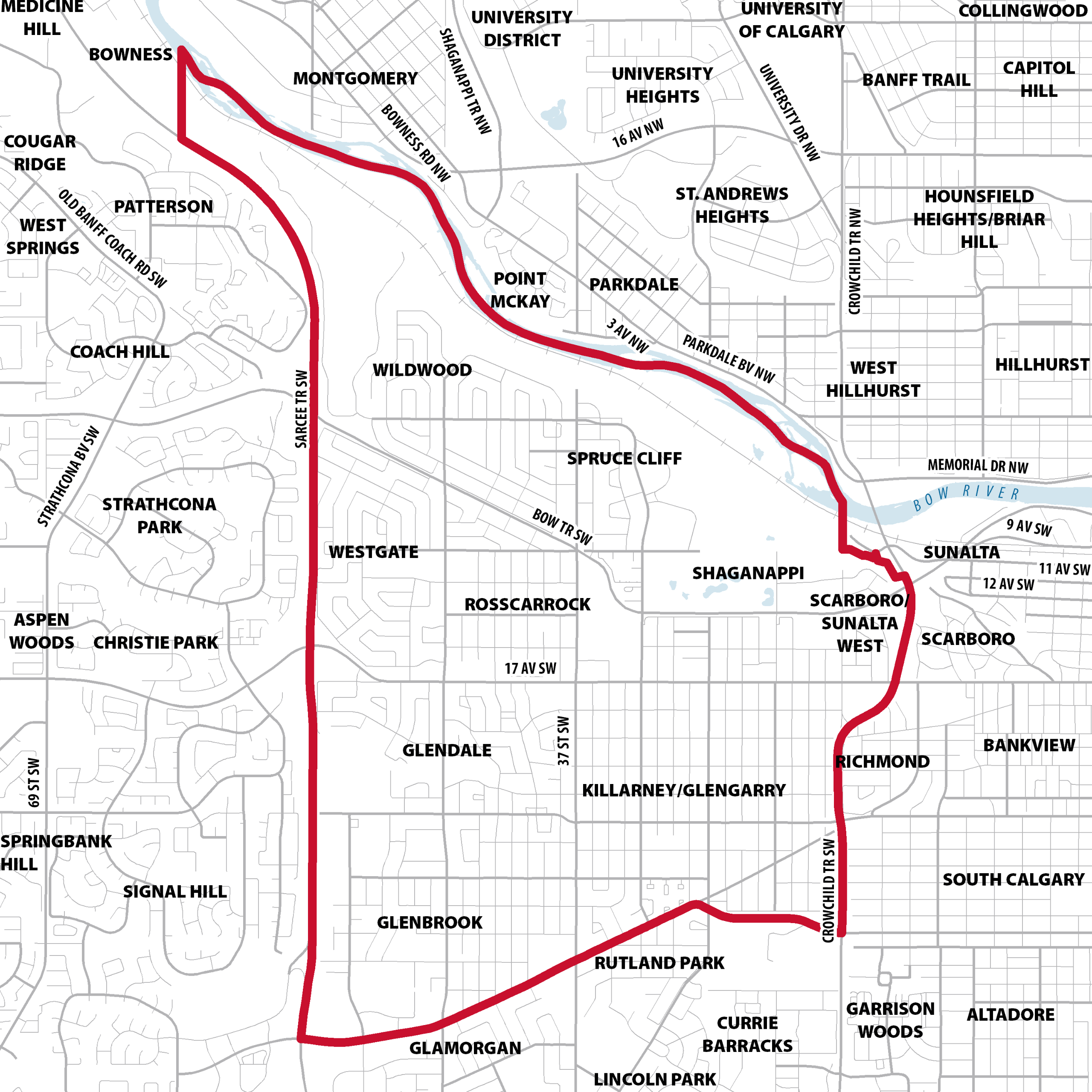 Plan Area Map