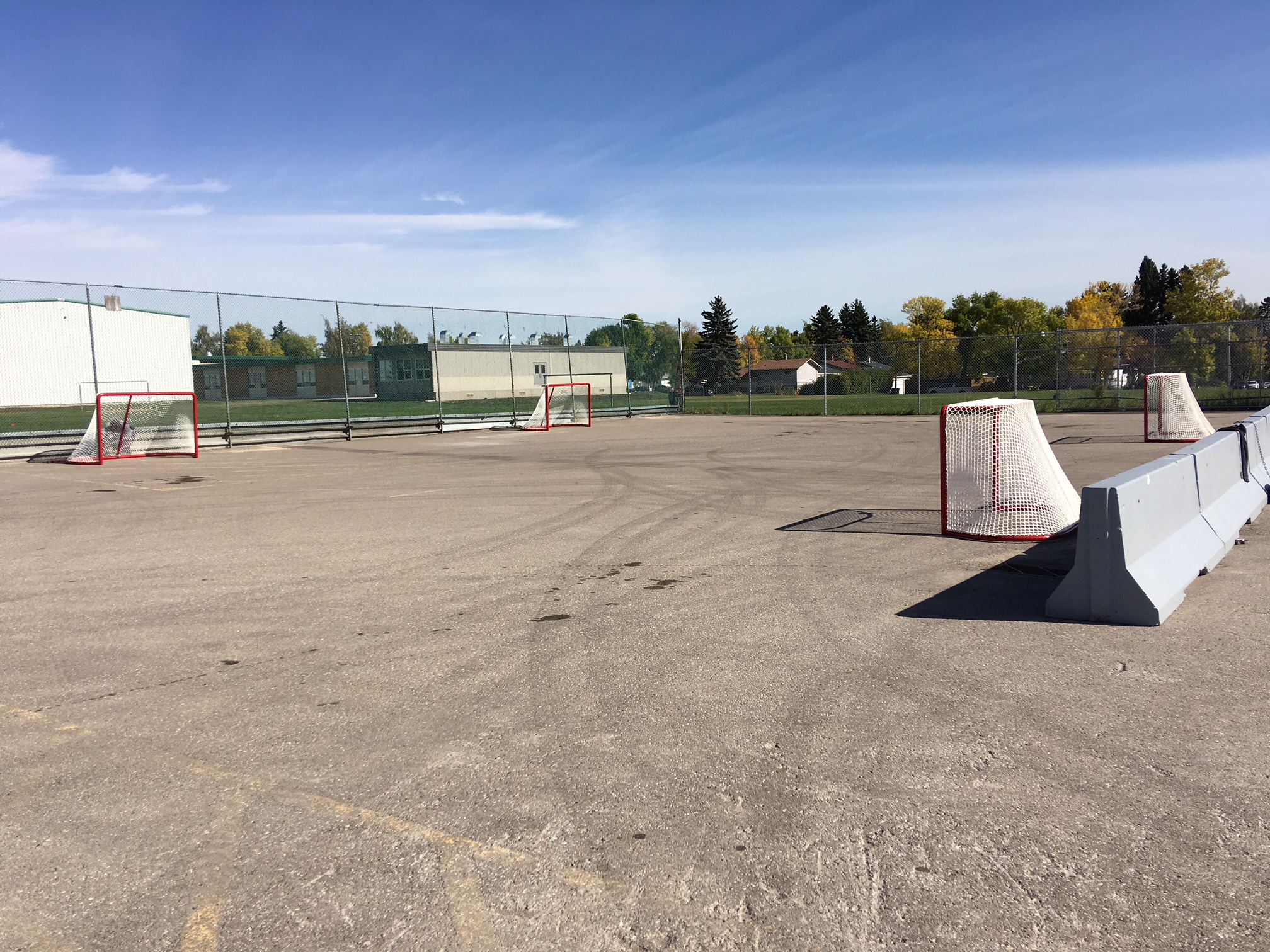 Ball Hockey Court