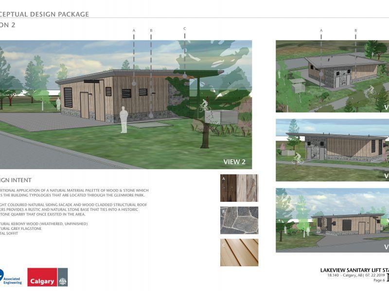 Option two conceptual design