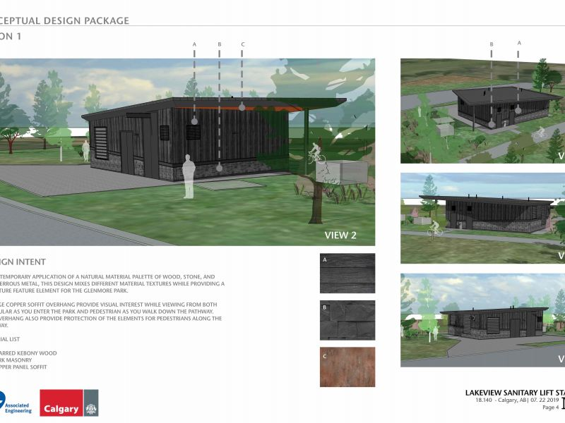Option one conceptual design
