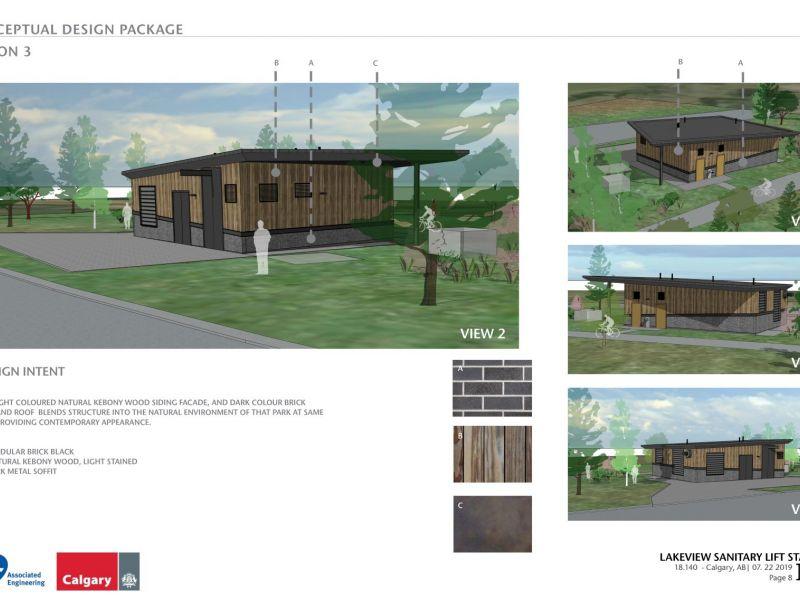 Option three conceptual design