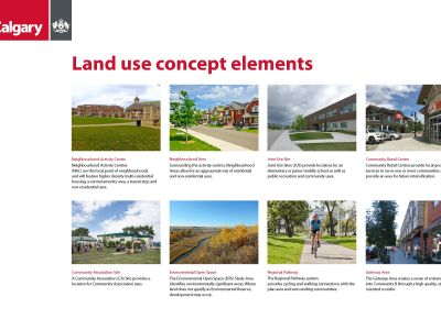 Land Use Concept Element Definitions