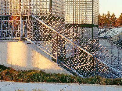 Artist collaboration railing