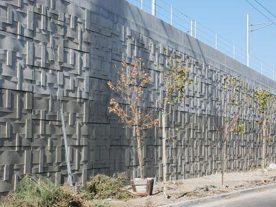 Standard concrete form-liner
