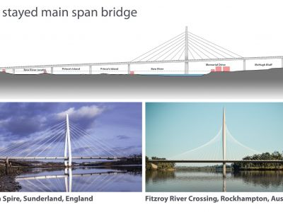 Overview of cable stayed bridge design and examples
