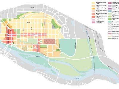 Draft Urban Form Map