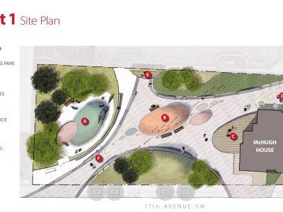 Concept 1 Site Plan