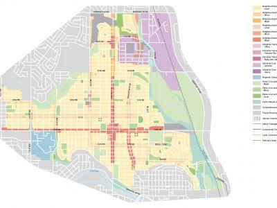 Draft Urban Form Map