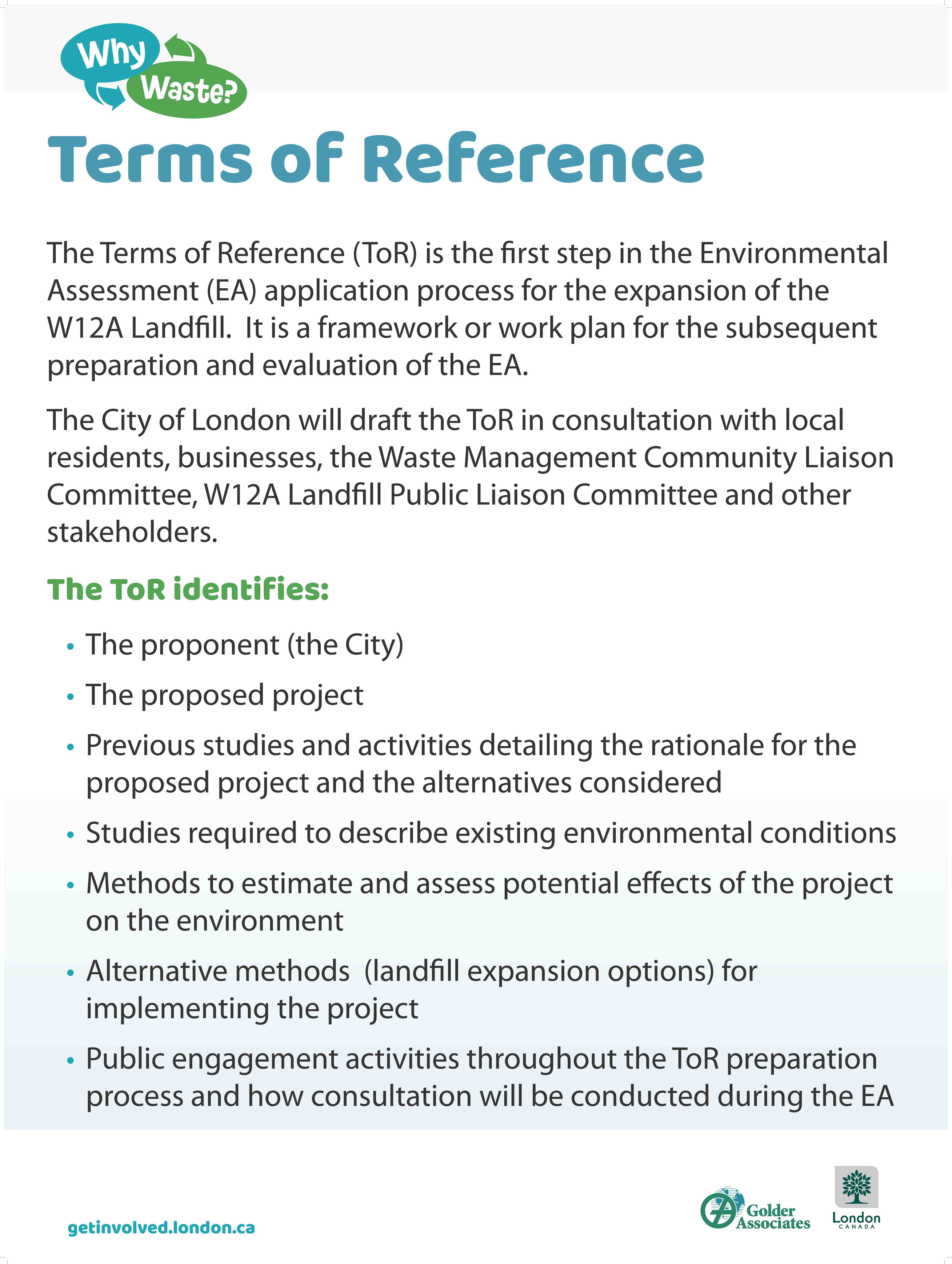 Environmental Assessment for Proposed Landfill :: Resource