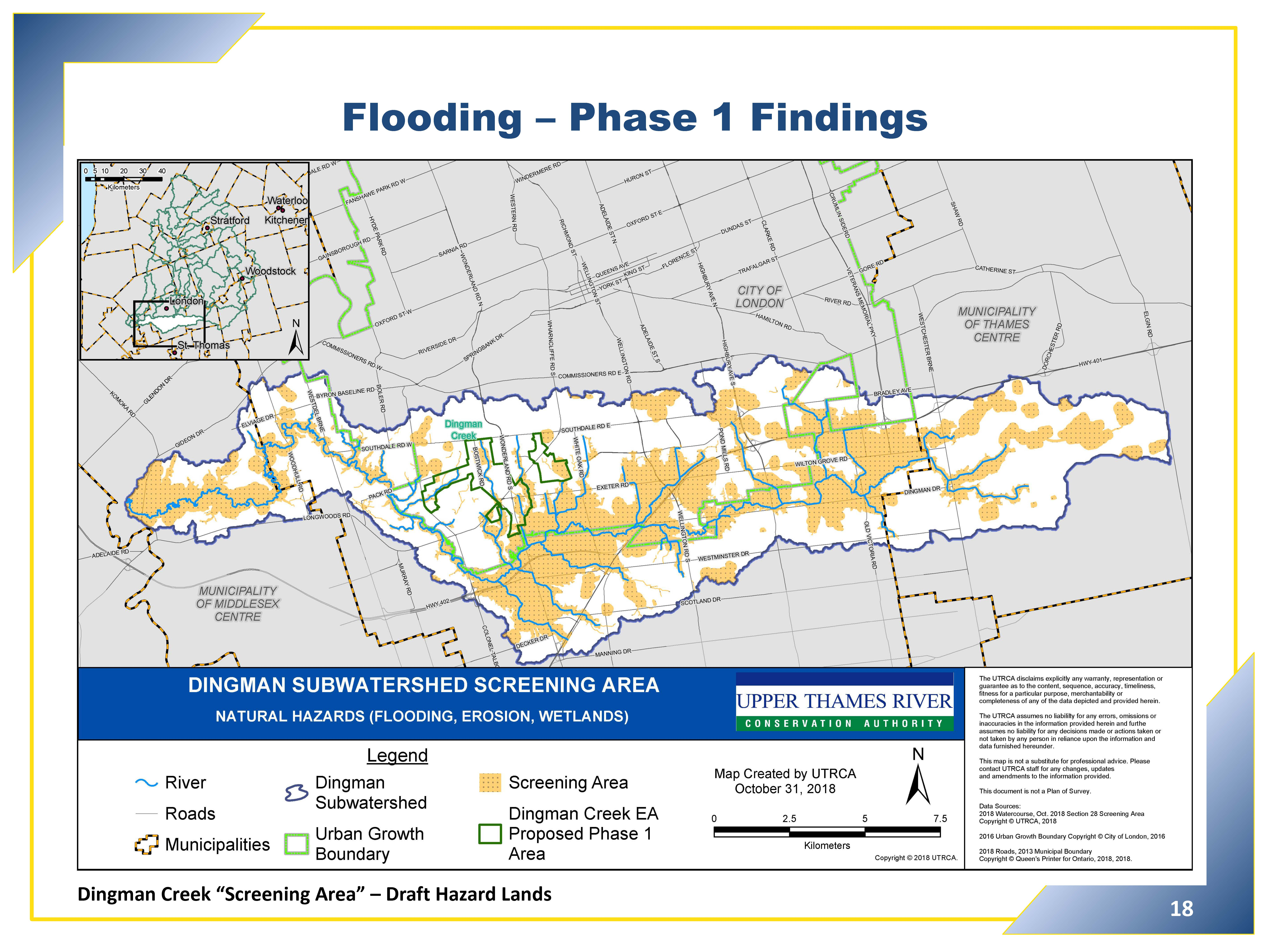 Flooding - Phase 1 Findings