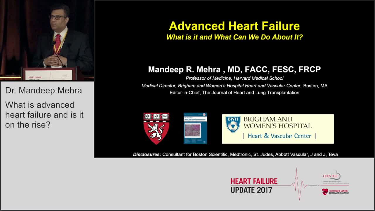 What is advanced heart failure and is it on the rise?