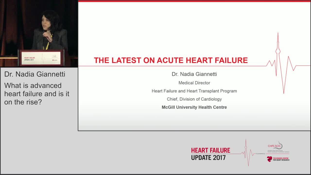 The latest on acute heart failure