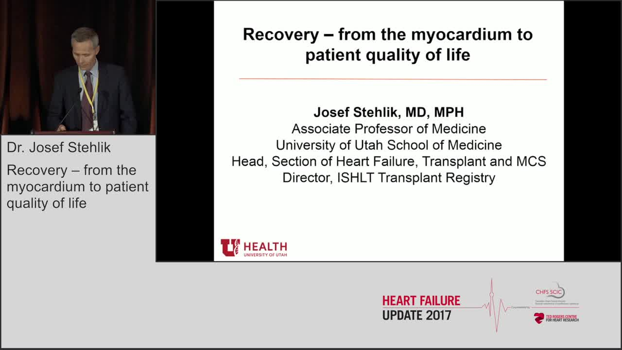 Recovery – from the myocardium to patient quality of life