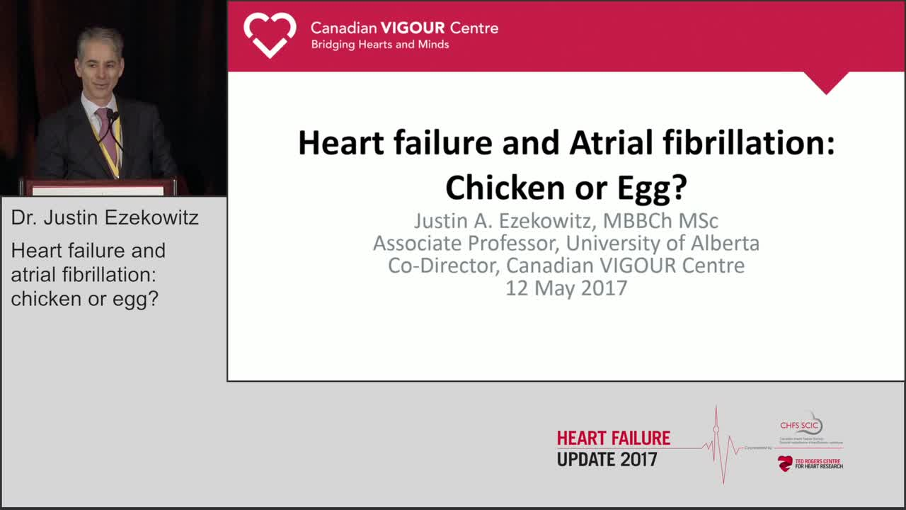 Heart failure and atrial fibrillation: chicken or egg?