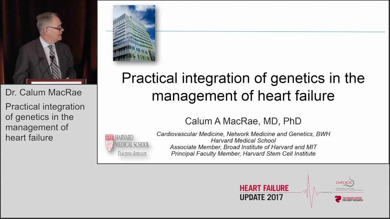 Practical integration of genetics in the management of heart failure
