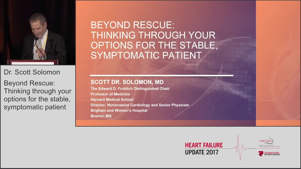 Beyond rescue: thinking through your options for the stable, symptomatic patient
