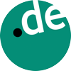 de domain name logo