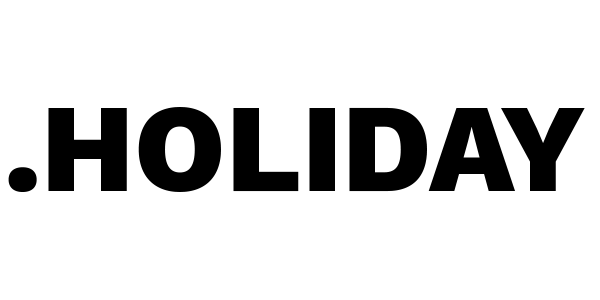holiday domain name logo