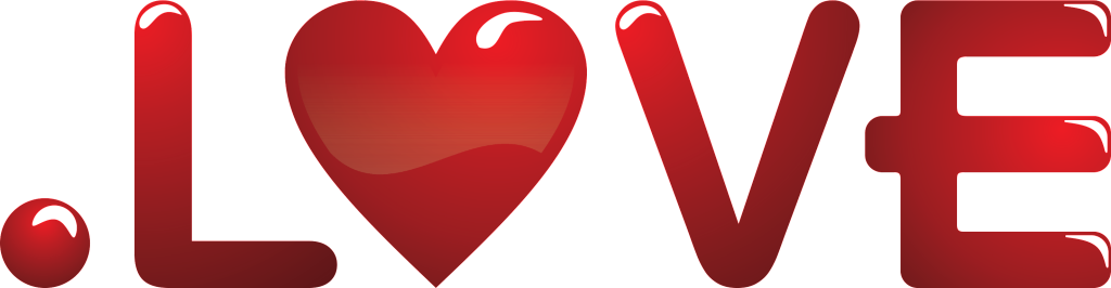 love domain logo