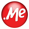 me domain name logo