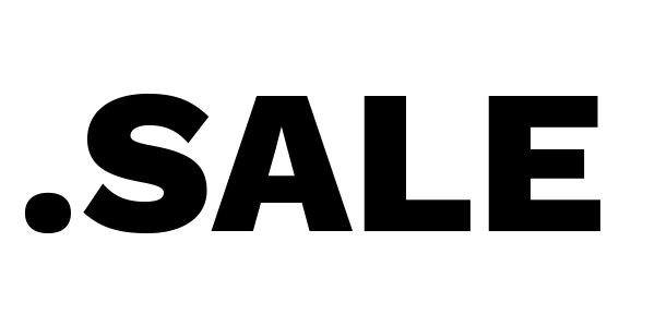 sale domain logo